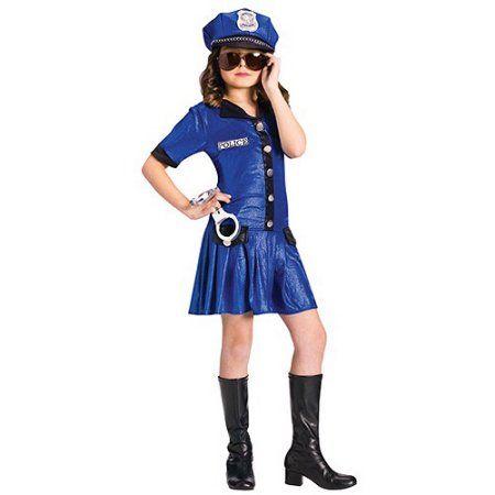 Fun World Police Chief Child Halloween Costume Girlu0027s Size XL(14/  sc 1 st  Pinterest & Fun World Police Chief Child Halloween Costume Girlu0027s Size: XL(14 ...
