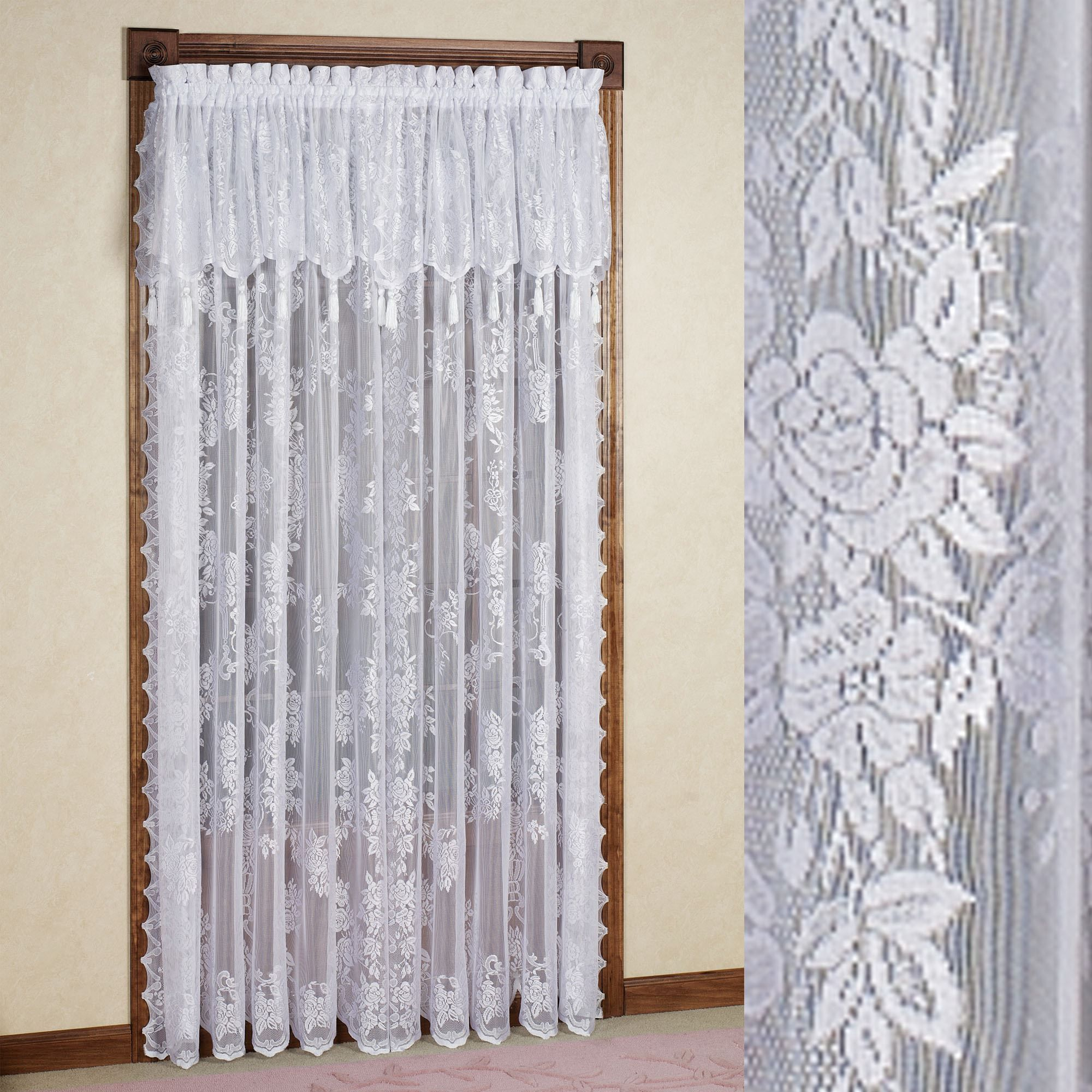 Exquisite Lace Curtains For Your Vintage Home Interior Lace
