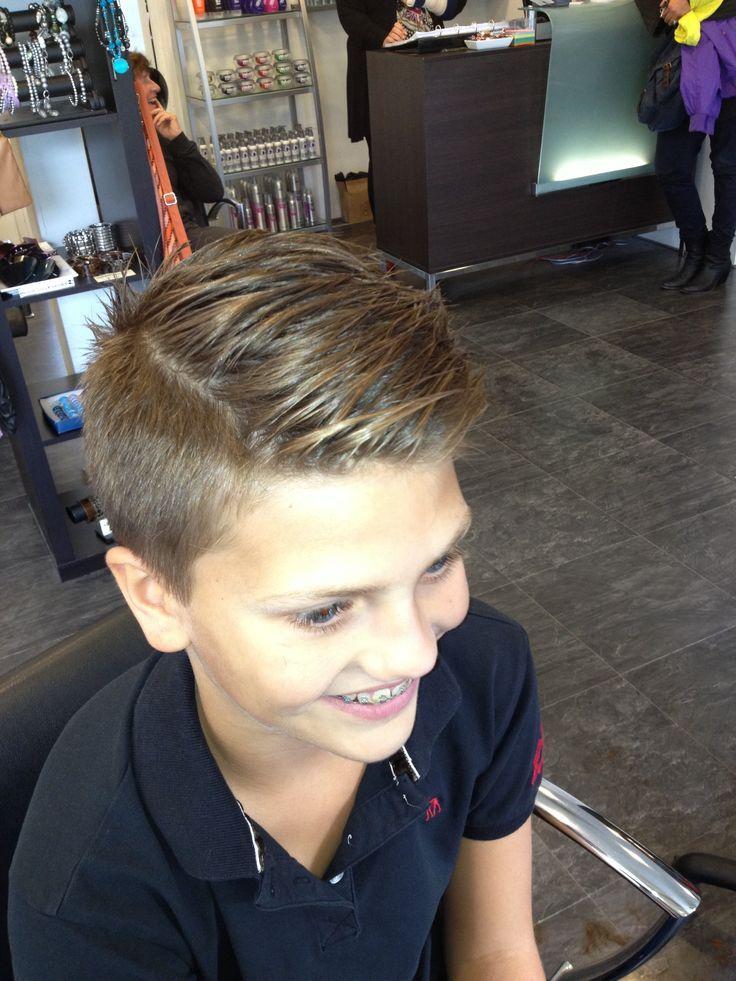 Gaaf Kapsel Voor Fabian Kapsel Kids Junge Haarschnitte
