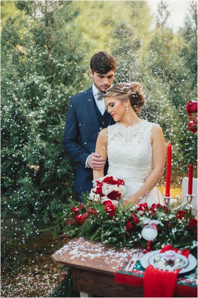 Christmas Wedding Style Shoot The Bride Link Ideen Fur Die Hochzeit Hochzeit Alles Fur Die Katze