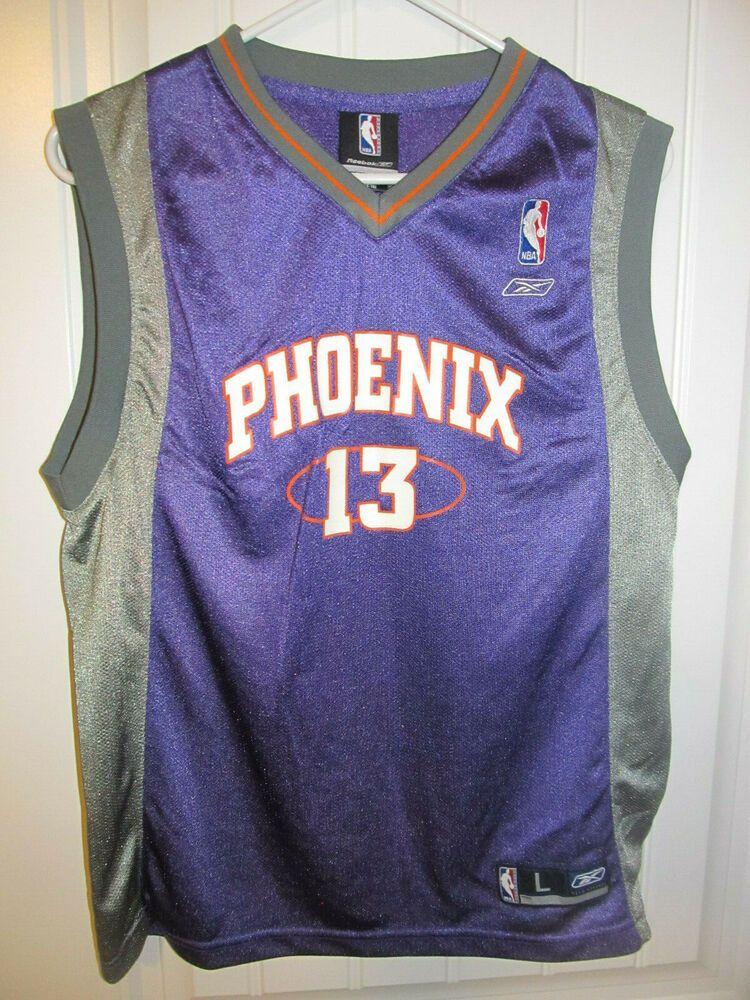 separation shoes b63ed afb48 Steve Nash - Phoenix Suns Jersey - Reebok Youth Large ...