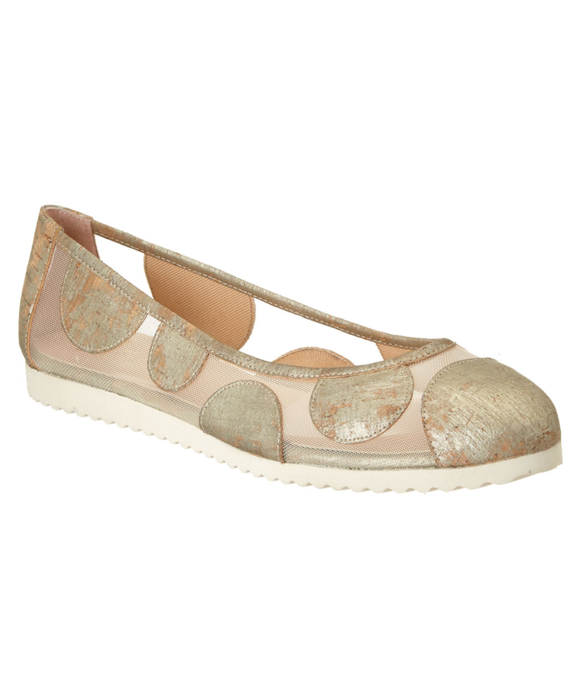 FRENCH SOLE   French Sole Retro Cork Flat #Shoes #Flats #FRENCH SOLE