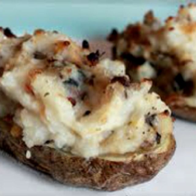 The Ultimate Twice Baked Potatoes: The Best Ever Keg Inspired , Twice Baked Potato