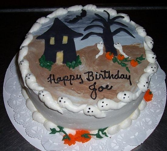 Happy Birthday Joe Cake Images Free Download Happy Birthday Joe Halloween Cakes Birthday Halloween Party