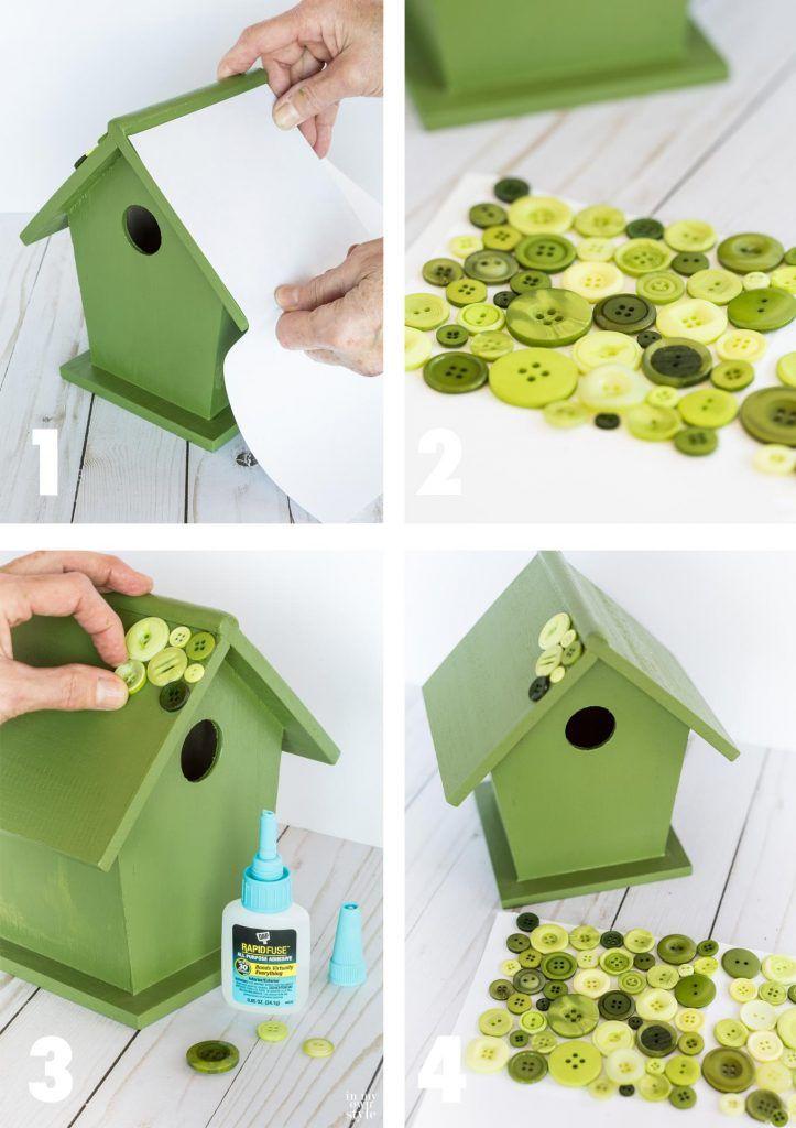 DIY Designer Birdhouse