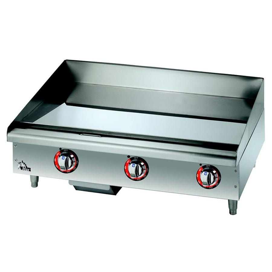 Star Max 636tchsf 36 Countertop Gas Griddle With Chrome Plate