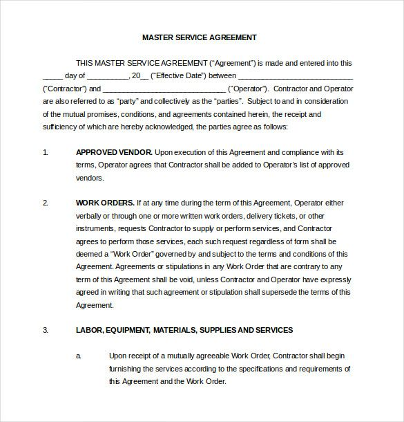 Related image vendor agreements Pinterest - free service agreement template