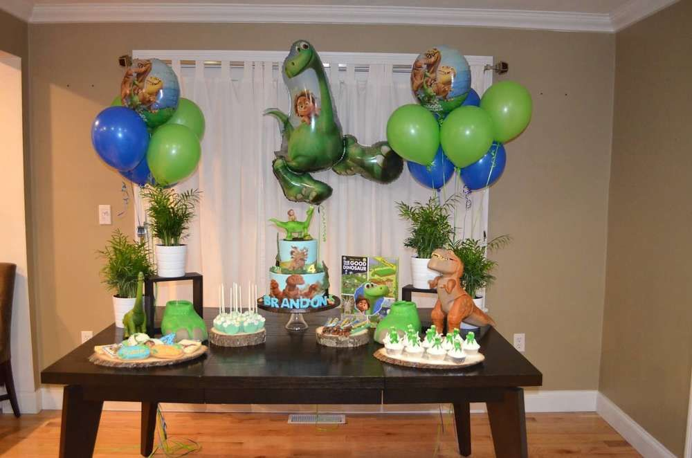 The Good Dinosaur Birthday Party Ideas Dinosaur birthday Dinosaur