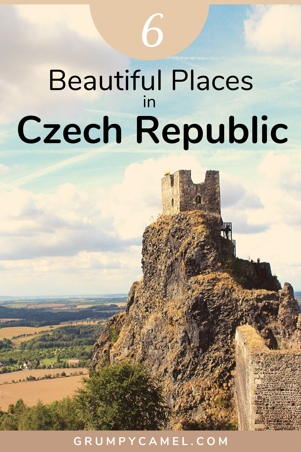 Looking for beautiful places in Czech Republic to visit besides Prague? Check out my top suggestions, including the fairytale-like town of Cesky Krumlov and the colourful spa town of Karlovy Vary.  #Europe #EuropeTravel #CzechRepublic.