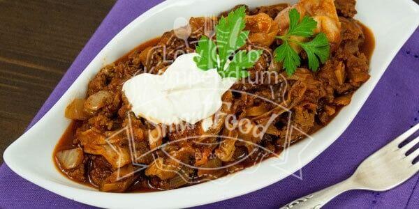 Schichtkohl (Schmorkohl) - Herzhaft, lecker, Low Carb #spitzkohlrezeptehackfleisch