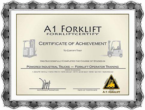 Forklift Certification Forklift Training Onsite Forklift