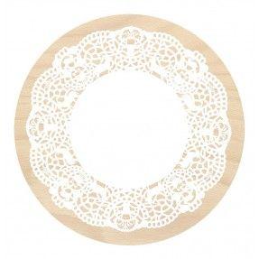 Pâtisserie  Tortenplatte  von Cocobohème    massives Buchenholz naturbelassen, aus nachhaltiger Forstwirtschaft  38x2cm  Preis: 49,00Fr.