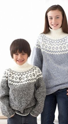 Kid's Classic Fair Isle Sweater | Fair isles and Kids s