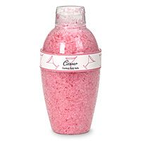 -Cosmo Bath Salt in a Cocktail Shaker; This would be perfect for the party favor bag!