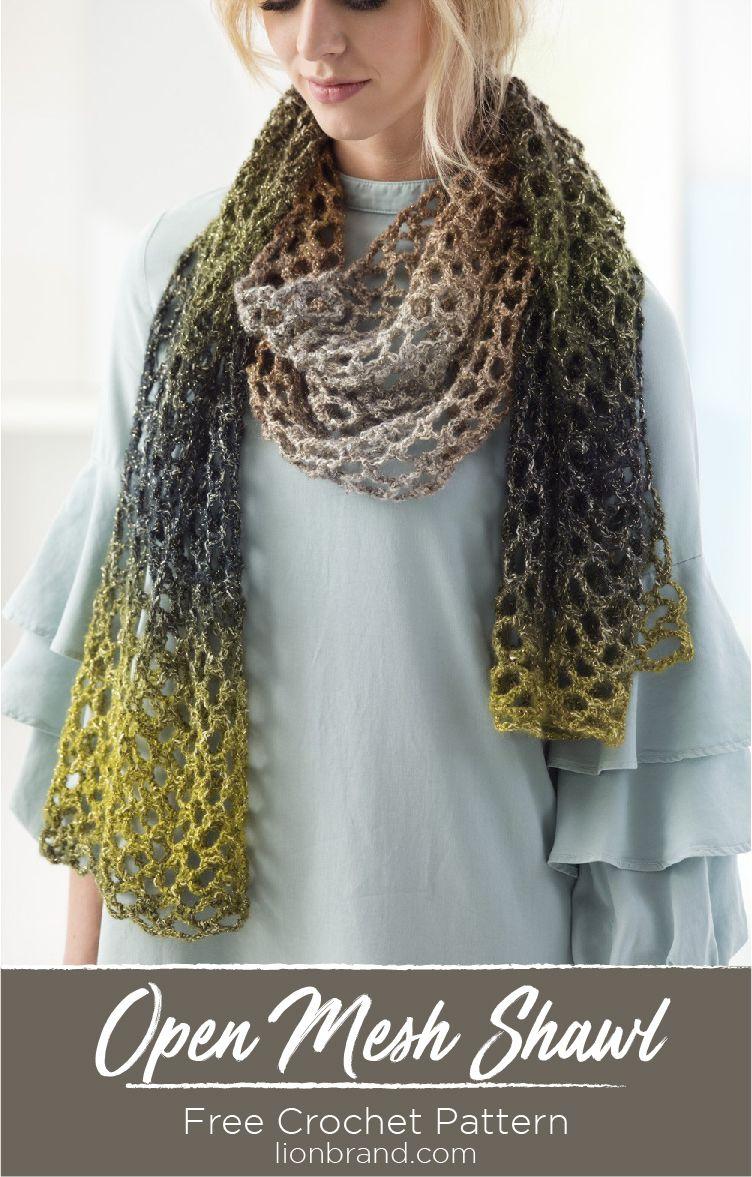 Pin von Martine Faucher auf Crochet - Scarf / Foulard | Pinterest ...