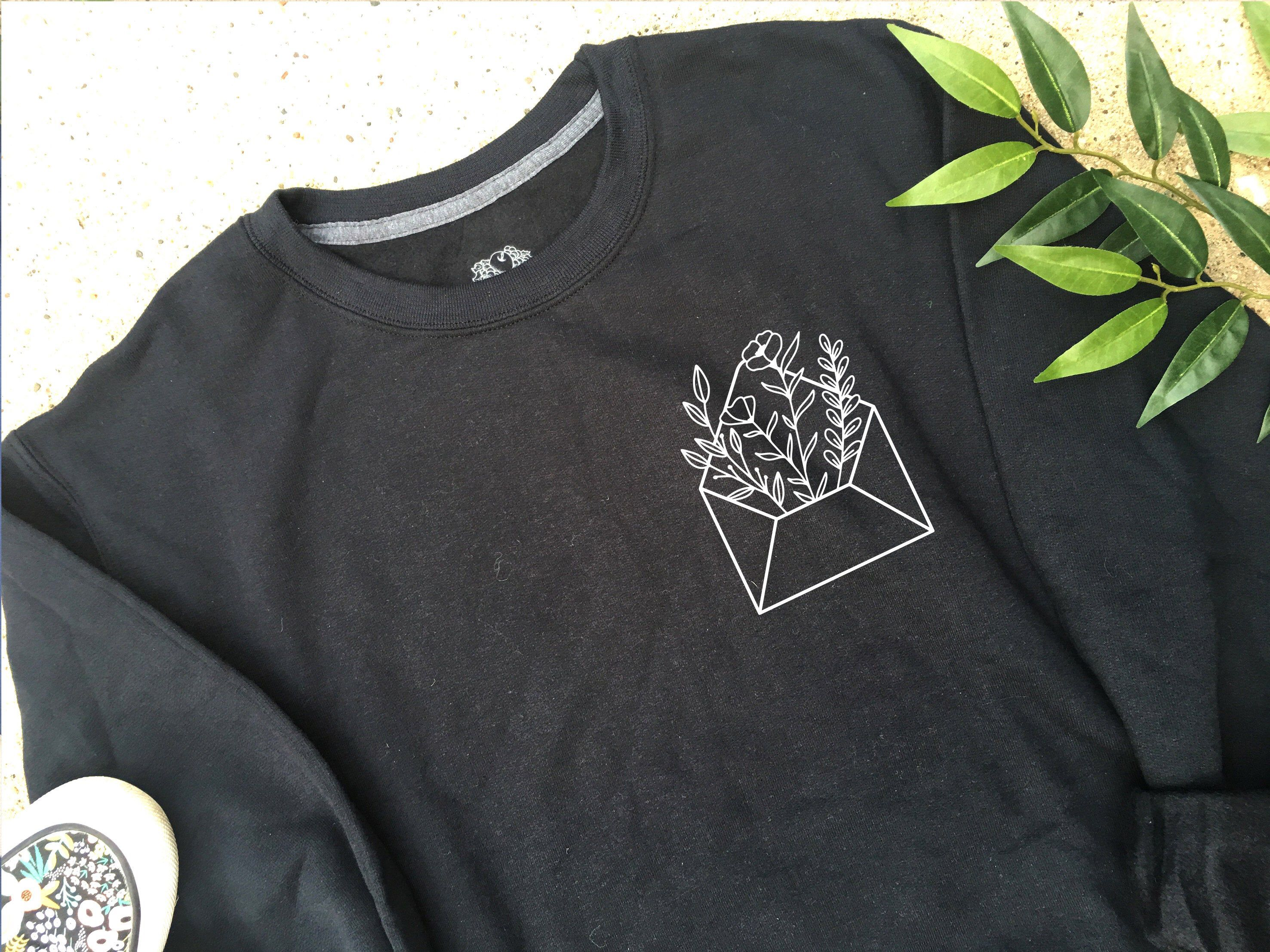 Floral Envelope Crewneck Graphic Tee Comfort Colors Etsy Comfort Colors Sweatshirt Shirt Designs Comfort Colors [ 2215 x 2953 Pixel ]