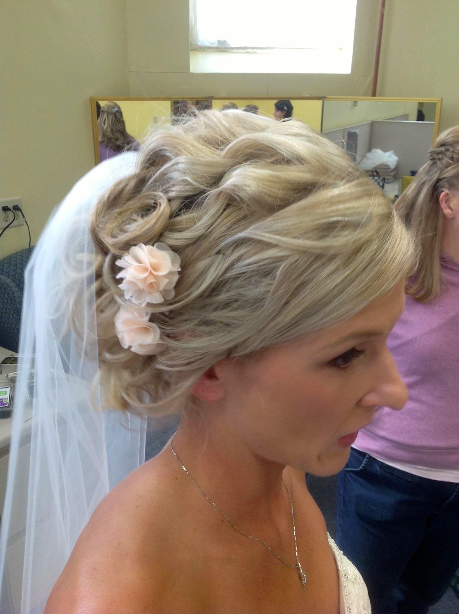My wedding hair with veil wedding hairstyles shoulder length hair