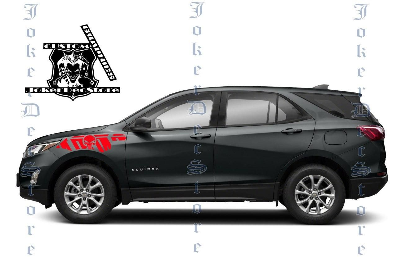 New Chevy Equinox Accessories Chevrolet Decals Equinox Etsy In 2020 Chevrolet Equinox Stripe Kit Vinyl Car Stickers