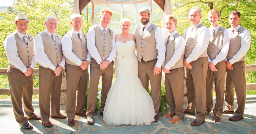 Rustic Wedding Attire for Groomsmen/Groom. Where did you get yours ...