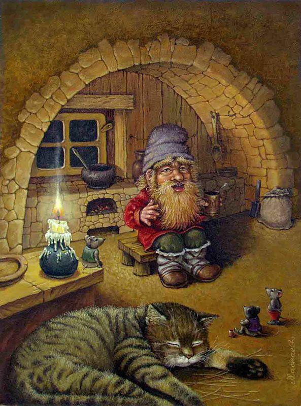 спящий кот - Схемы вышивки - irselika - Авторы - Портал «Вышивка крестом»