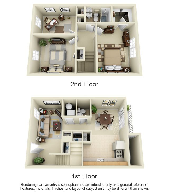 Portsmouth Townhome 1140 Sq Ft Sims House Design Sims House Architectural Floor Plans
