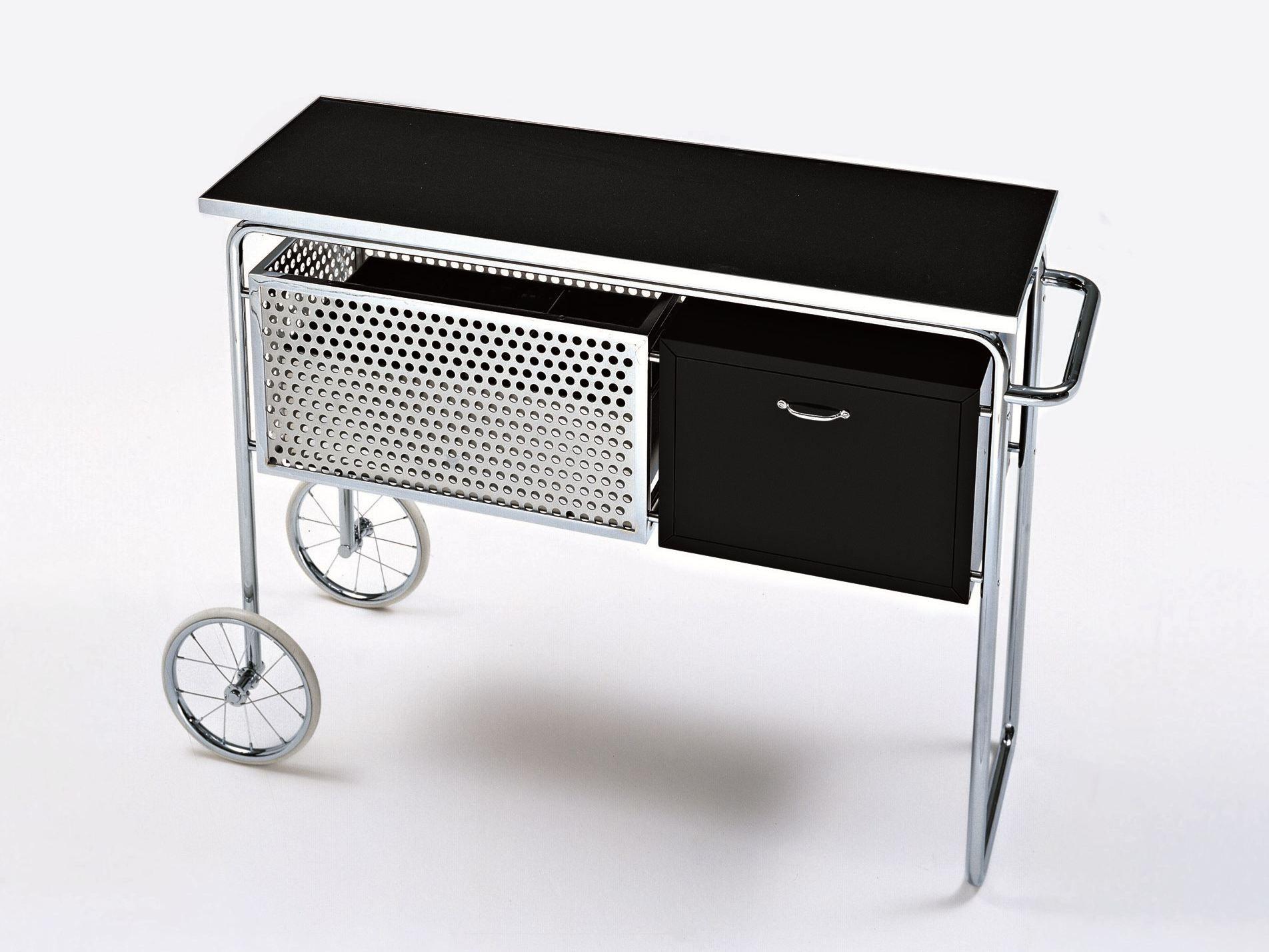 meuble bar en acier et bois roulettes ar1 collection atelier by misuraemme design alfred. Black Bedroom Furniture Sets. Home Design Ideas