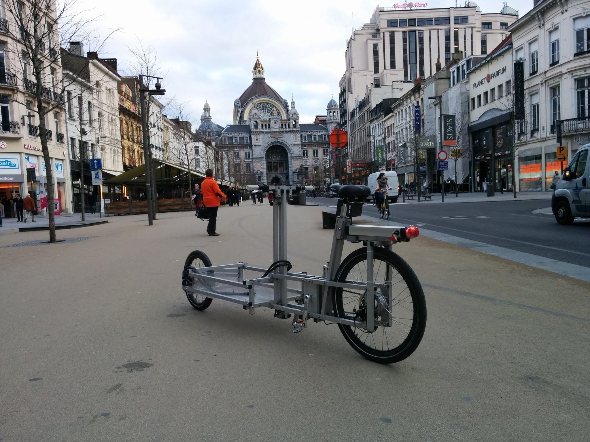 Inspirational V lo m world us first multi modular cargobike