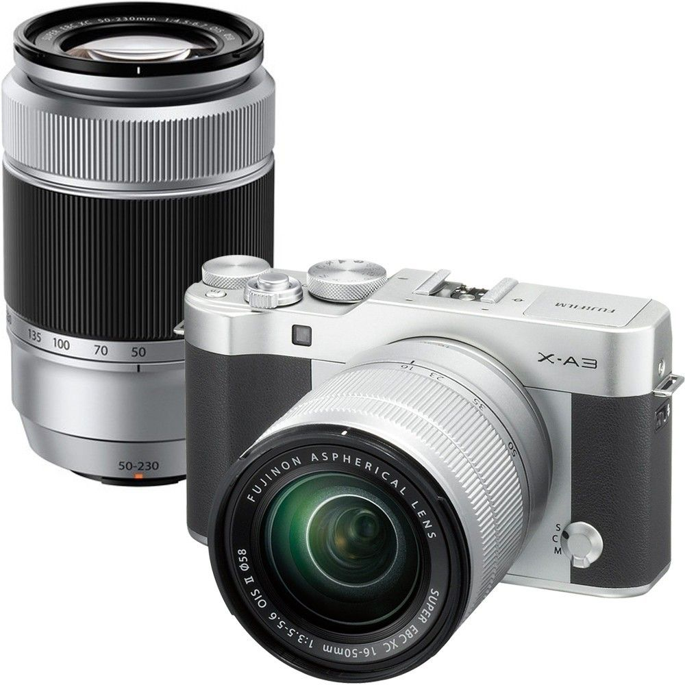 Best Buy Fujifilm X A3 Mirrorless Camera With 16 50mm And 50 230mm Lenses Mirrorless Camera Fujifilm Fujifilm Camera