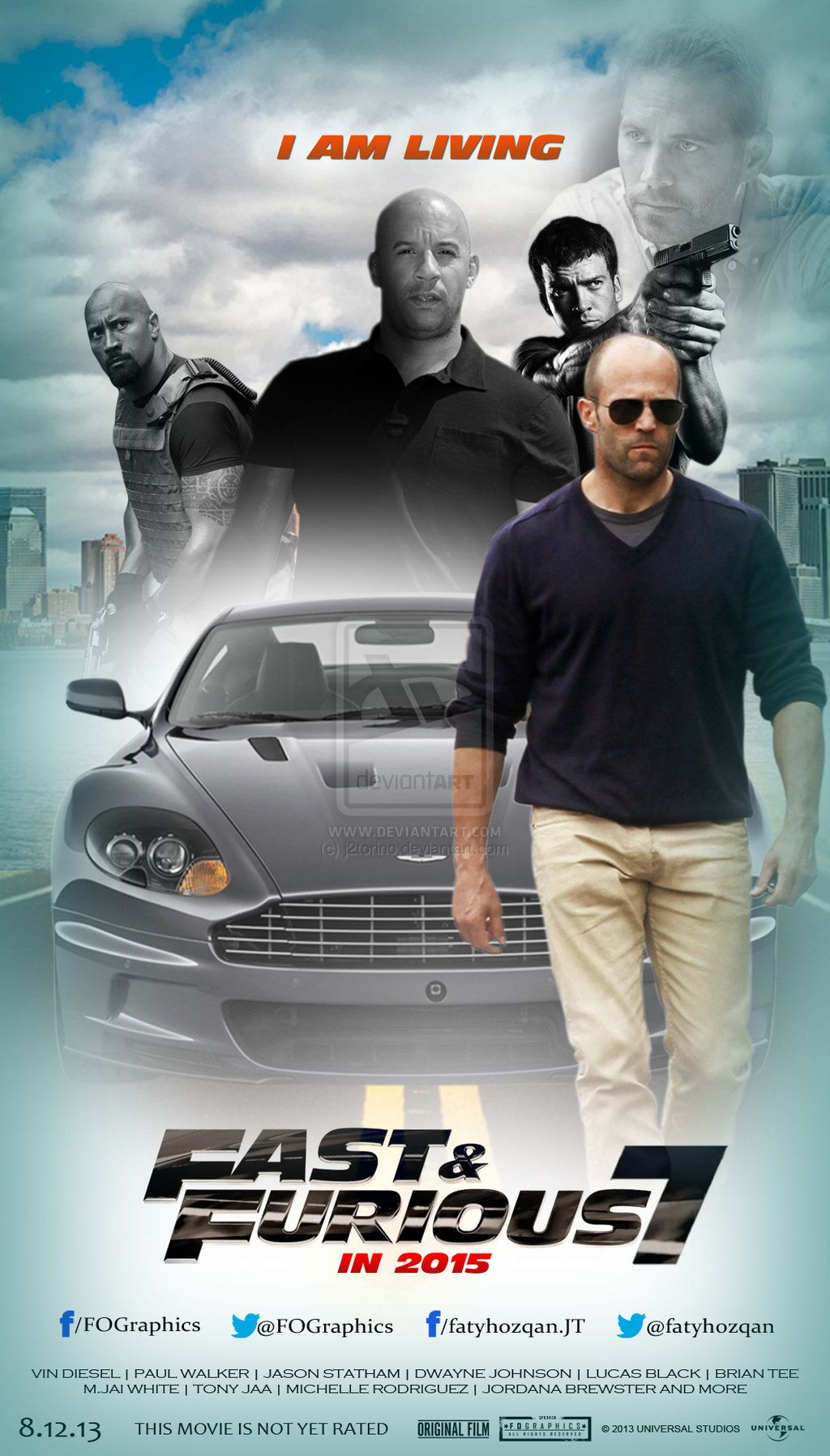 Furious Seven 2015 Pg 13 Stars Vin Diesel Paul Walker Dwayne Johnson Deckard Shaw Seeks Rev Movie Fast And Furious Furious Movie Fast And Furious