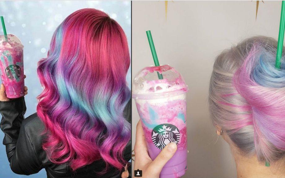 Unicorn Frappuccino di Starbucks ispira nuovi colori capelli su Instagram - Glamour.it
