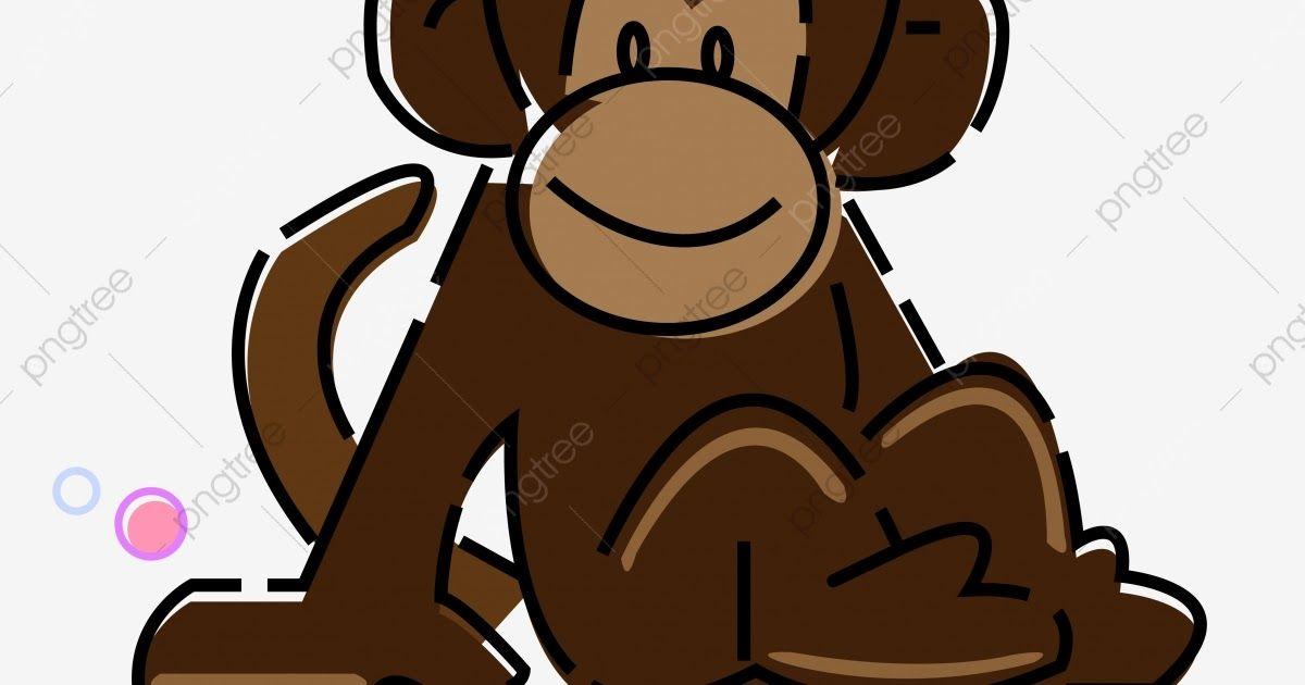 Foto Lucu Monyet Hitam Monyet Lucu Monyet Tangan Ditarik Monyet Indah Monyet Download Ilustrasi Unsur Lucu Monyet Komersial Kartun Co Foto Lucu Lucu Monyet