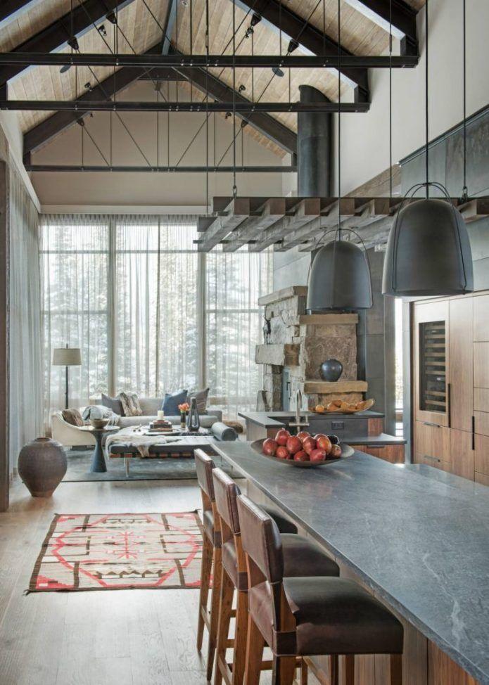 Loft chalet : entre style montagne et industriel ...