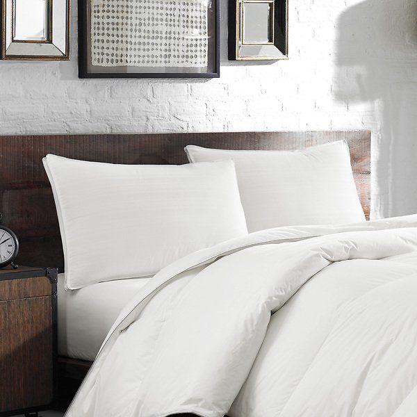 Eddie Bauer White Down Feather Chamber 400 Thread Count Pillow