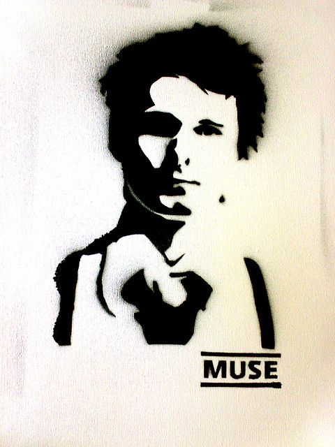 Matt Bellamy - Stencil