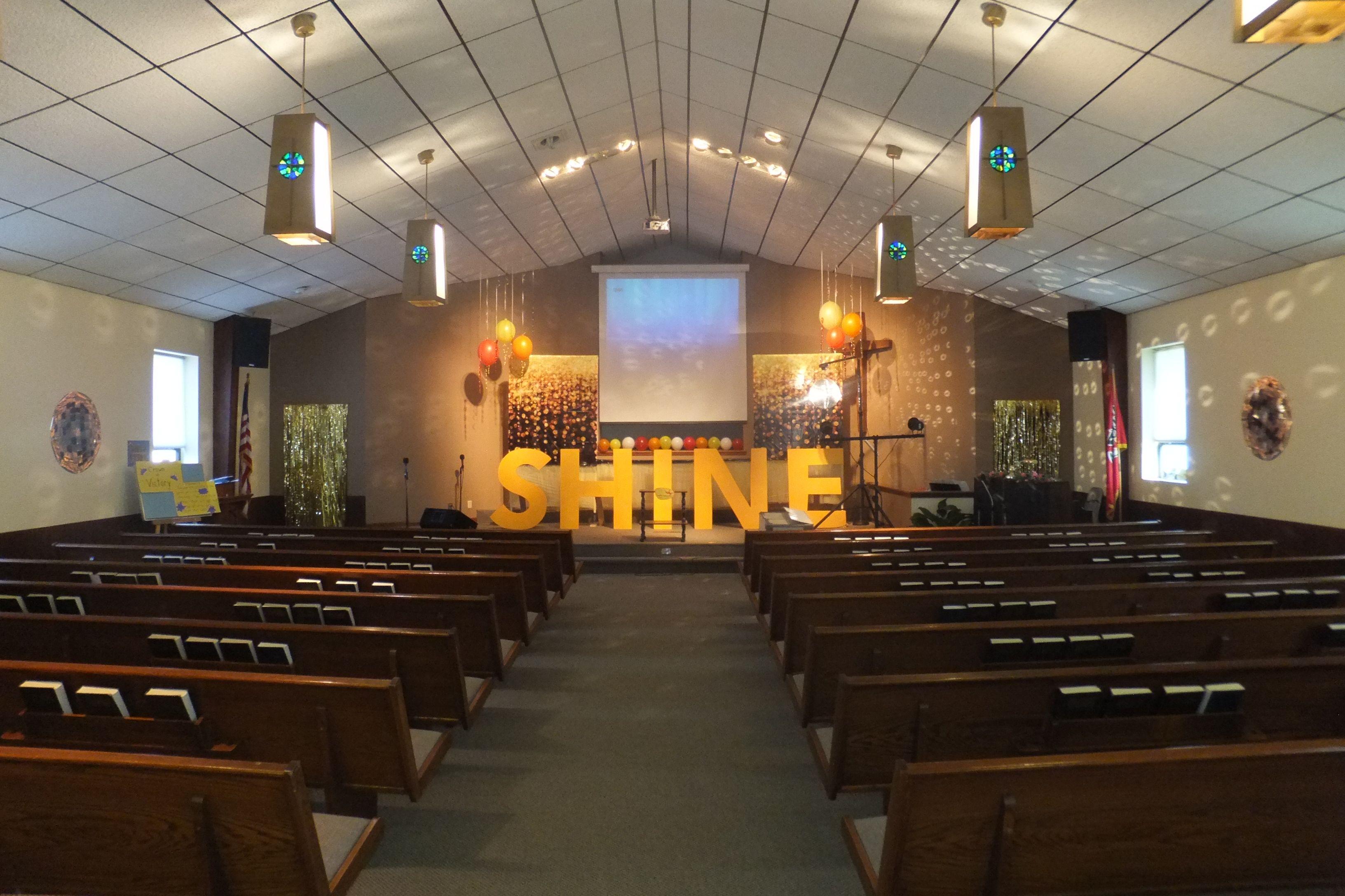 Shine Vbs Opening And Closing Decor Go Fish 2014 Decor Church
