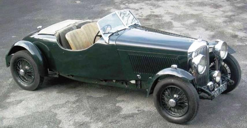 1936 Special Peel Tourer (chassis B236GA) Bentley