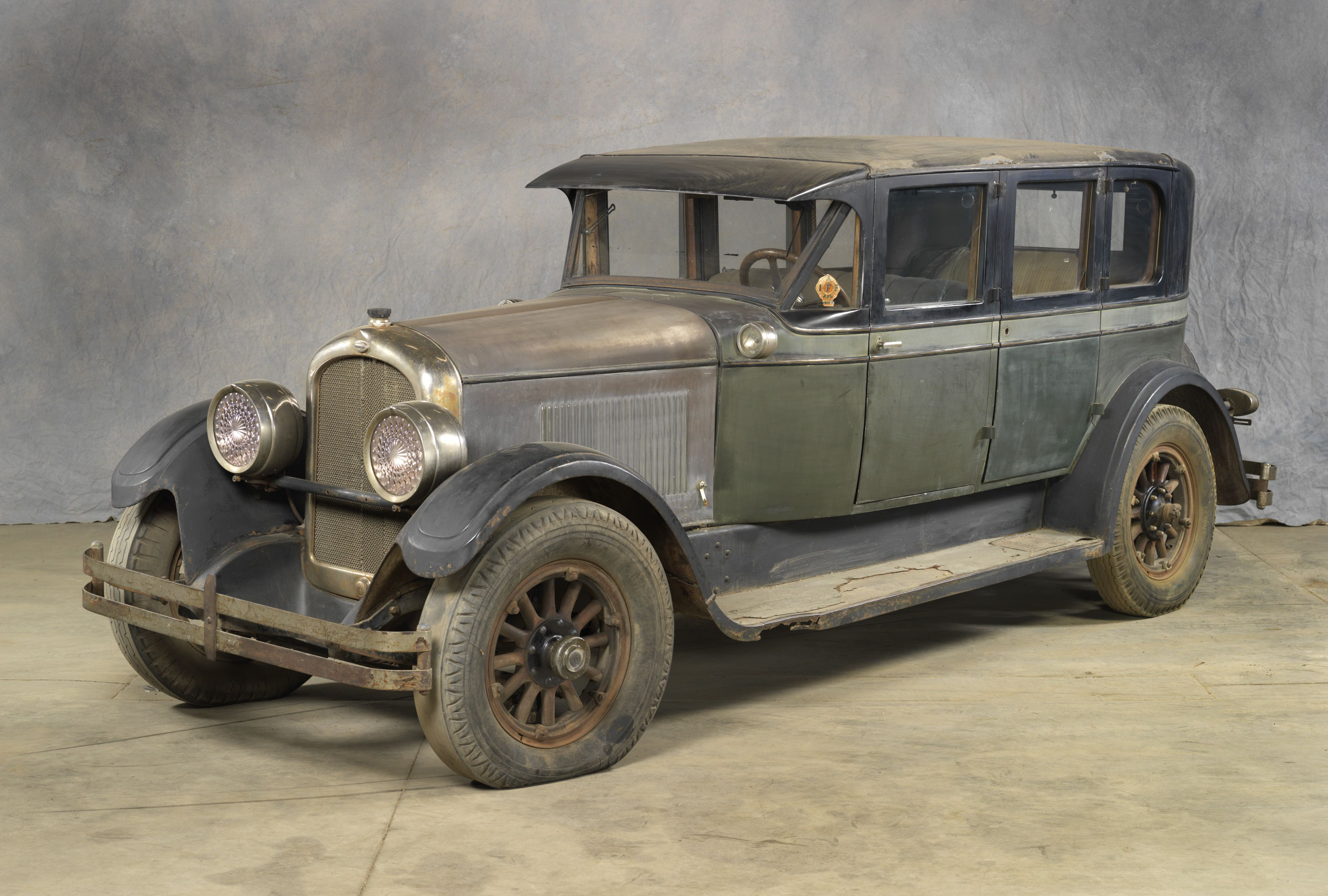 1926 MARMON MODEL 74 SEDAN: Howard & Walter Marmon formed the Marmon ...