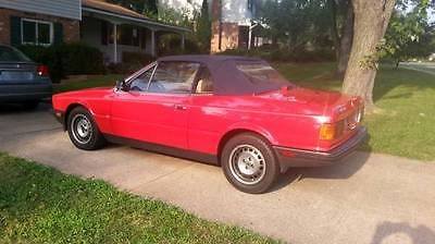 ebay: 1986 maserati other zagato 1986 maserati biturbo convertible