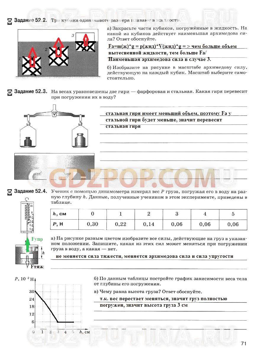 Задачник по физике степанова 7-8 класс онлайн