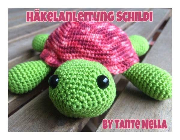 Jetzt Mit Der Gratis Anleitung Eine Schildkröte Häkeln Die Süße