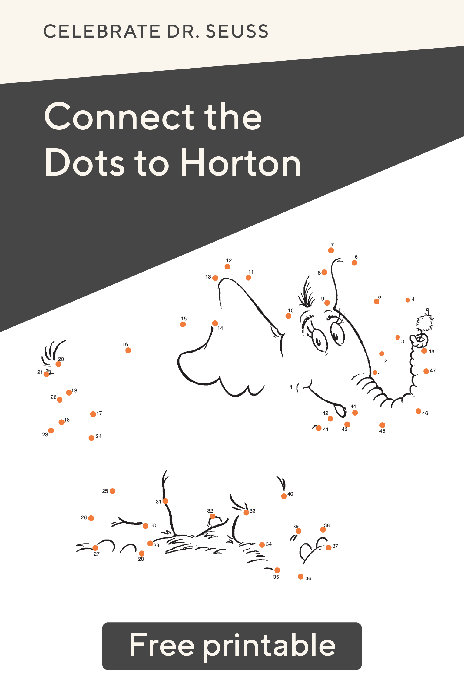 Connect The Dots To Horton