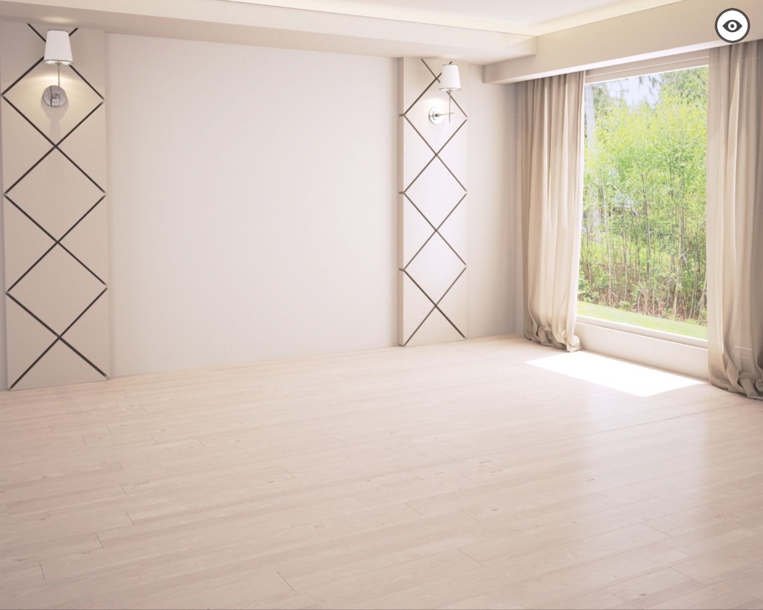 Pin By Christina Interiordesigner On Templates Empty Room Room Design [ 1228 x 1536 Pixel ]