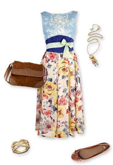 Dirndl: Kleid von Amsel
