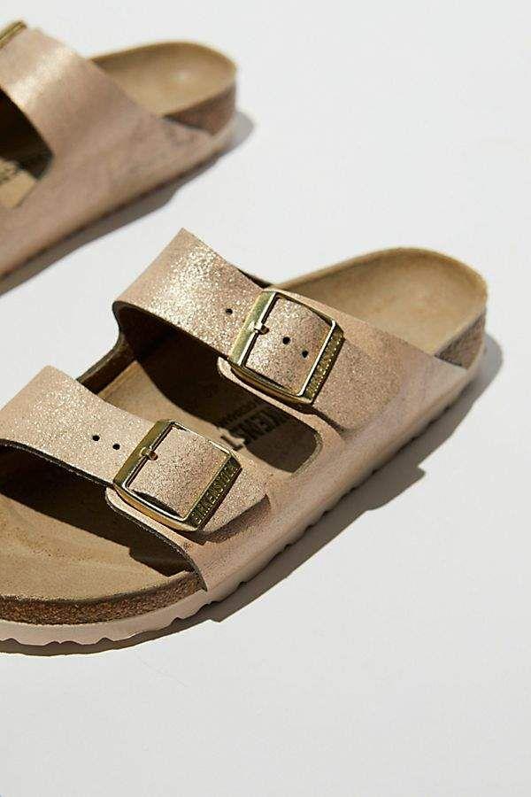 78ef4d47337d Arizona Washed Metallic Birkenstock Sandal in 2019 | Metallics ...