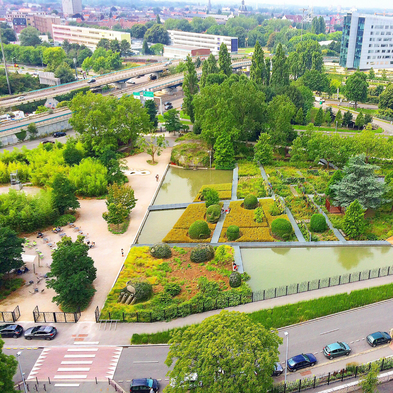 Jardin des géants à Lille, France. Projet réalisé par l agence Mutabilis  (Paris). dfe0dae74fbb