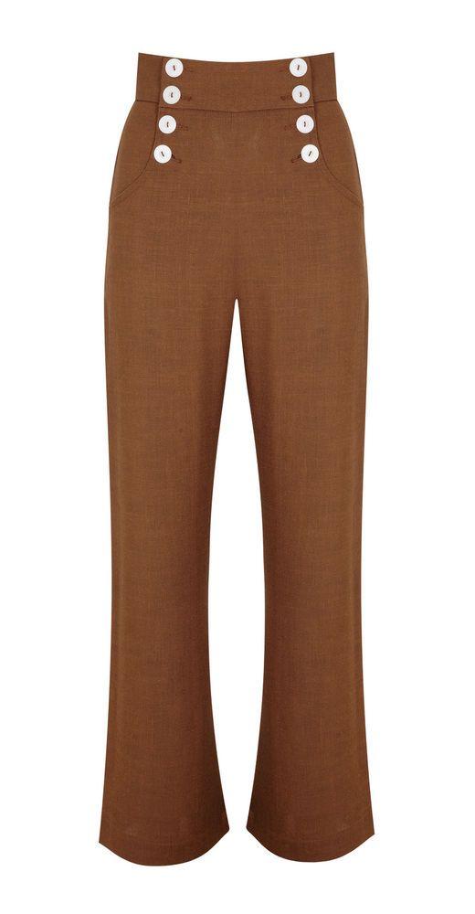 Tara Starlet 1940s 40s Style: Tara Starlet 40s Swing Trousers Goodwood Lindyhop Vintage