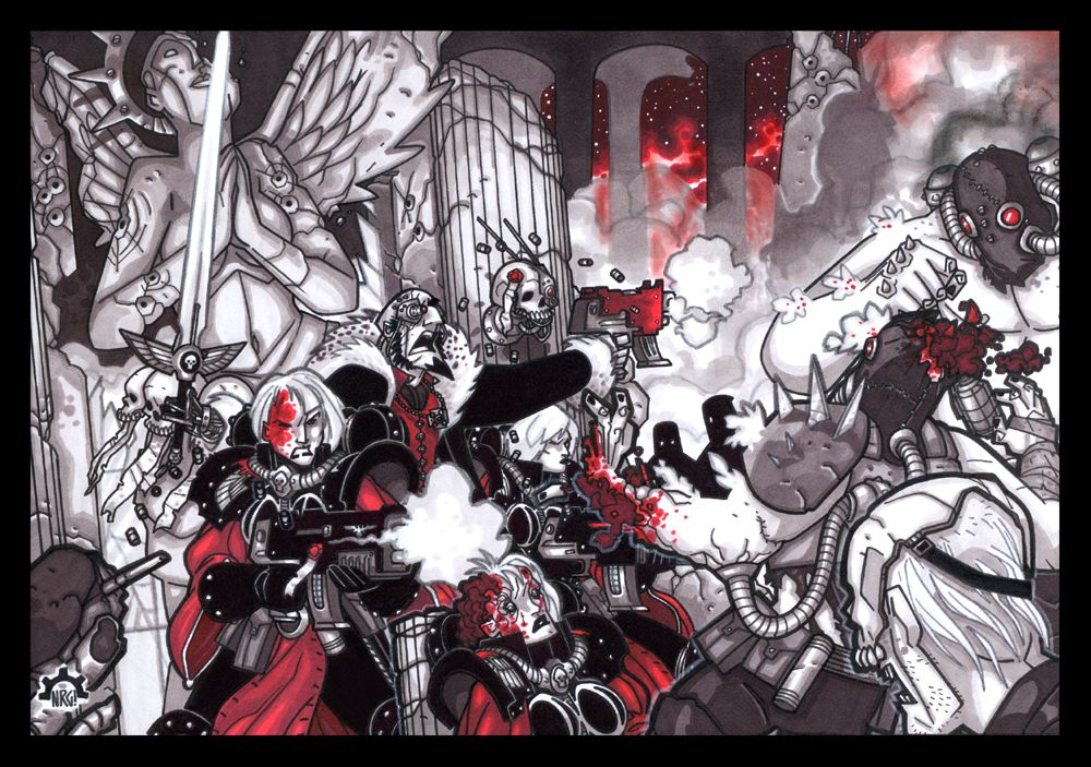 Inquisition Symphony by NicolasRGiacondino