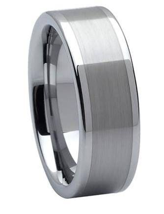 Ritani Mens Palladium 8mm Wedding Band Featuring A Satin Center Available At London Jewelers 195000