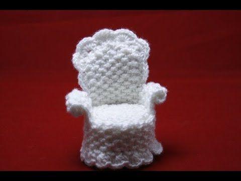 Häkelanleitung Stuhl Für Puppenhaus Häkeln Claudia Pinterest