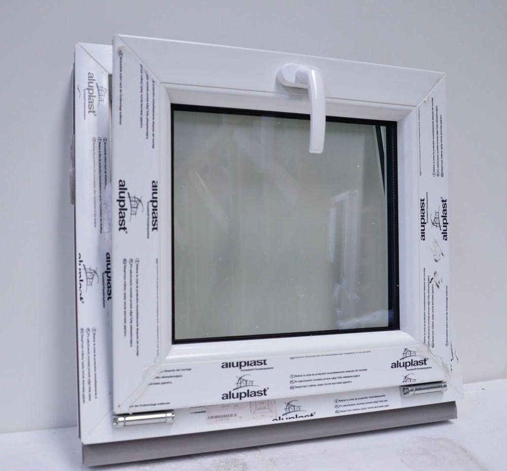 Fenêtre oscillo-battant PVC ALUPLAST IDEAL 4000 en blanc, LA MOINS ...